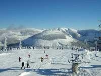 Medvědín - na obzoru Sněžka - Špindlerův mlýn