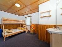 Pokoj č.3: 3 lůžka + 1,5 přistýlka - chata k pronajmutí Špindlerův mlýn