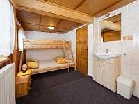 Pokoj č.4: 3 lůžka + 1 přistýlka - chata ubytování Špindlerův mlýn