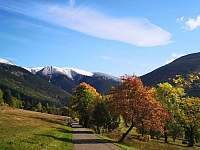 Zprava: Kozí hřbety, Železný hřbet, Luční hora a Stoh v říjnu - pronájem chaty Špindlerův mlýn