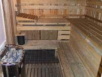 Sauna - chata k pronajmutí Jánské Lázně