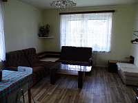 Obývací kout - apartmán ubytování Malé Svatoňovice