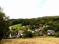 Výhled z Kyselky - apartmán k pronájmu Malé Svatoňovice