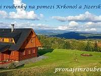 ROUBENKA čp 145 - výhledy, u lesa, na pozemku přes 20tis m2 - chalupa ubytování Jílové u Držkova