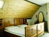 ložnice - pronájem chalupy Žacléř - Prkenný Důl
