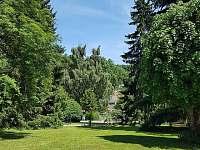 Pohled od domu do centra obce - Svoboda nad Úpou