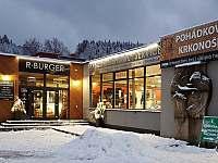 Restaurace R BURGER s indoor minigolfem - vila k pronajmutí Svoboda nad Úpou