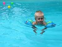 vyhřívaný bazén - vila k pronájmu Svoboda nad Úpou