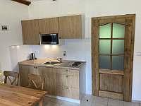 Apartmán kuchyně - Benecko