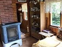 Obývací pokoj - chata k pronajmutí Oblanov