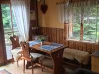 Obývací pokoj - chata k pronájmu Oblanov