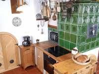 Kuchyň - chalupa k pronajmutí Aldrov - Roudnice v Krkonoších