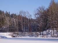 Okolí v zimě - ubytování Jilemnice - Javorek