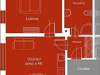 Apartmán 3 - ubytování Harrachov