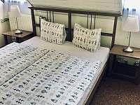Pokoj 10 manželské dvouluzko - chalupa k pronajmutí Hertvíkovice