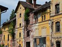 budova bývalého pivovaru - sladovna - chalupa k pronajmutí Rudník