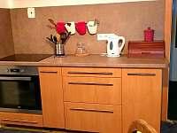 Kuchyň - apartmán ubytování Jablonec nad Jizerou