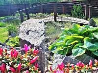 Zahradní mostek - Vrchlabí