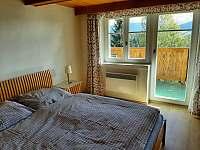 Pokoj s balkonem - chalupa k pronájmu Paseky nad Jizerou