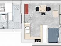 Apartmán Kotelna - apartmán ubytování Rudník u Vrchlabí - 9