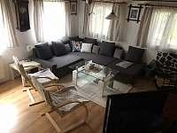 Obývací pokoj - chalupa ubytování Vysoké nad Jizerou
