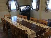 Roubenka Verunka - společenská místnost - Rokytnice nad Jizerou