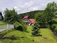Roubenka Verunka - zahrada - pronájem chalupy Rokytnice nad Jizerou