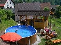 bazén - chalupa k pronájmu Háje nad Jizerou - Loukov