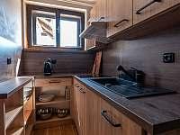 Kuchyňka apartmán - pronájem chalupy Strážné