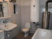 Tříč 80, koupelna - pronájem chalupy Vysoké nad Jizerou - Horní Tříč
