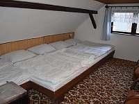 Tříč 80, ložnice č.2 - chalupa k pronajmutí Vysoké nad Jizerou - Horní Tříč
