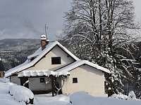zima - chalupa ubytování Vysoké nad Jizerou - Horní Tříč