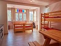 Apartmán-studio s kuchyní, manželskou postelí a palandou - pronájem Pec pod Sněžkou