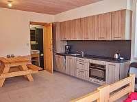 Vybavený kuchyňský kout - apartmán ubytování Pec pod Sněžkou