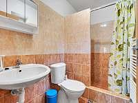 pokoj č.1 koupelna - pronájem chalupy Černý Důl