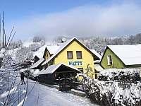 Rekreační Dům NATTY 1 - zima - chalupa k pronajmutí Černý Důl