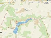 Dobrá Chaloupka - mapa - Staré Buky