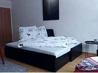 jídelna a obývací pokoj - apartmán ubytování Harrachov