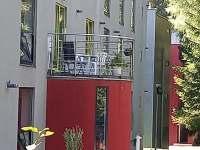 terasa - apartmán k pronajmutí Harrachov