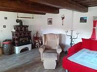 Relax chaloupka_odpočinek v obývacím prostoru - k pronájmu Černý Důl - Čistá v Krkonoších