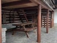 Relax chaloupka_venkovní sezení - Černý Důl - Čistá v Krkonoších
