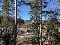 chata z dálky - Nová Paka - Štikov