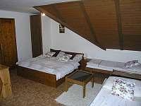 ložnice v podkroví - Rokytnice nad Jizerou
