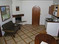 obytná kuchyň apartmánu v přízemí - Rokytnice nad Jizerou