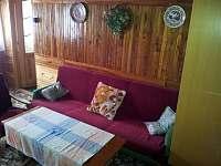 Druhá ložnice v patře - rozkládací gauč - Víchová nad Jizerou