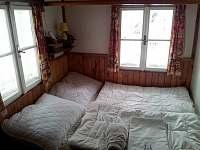 Ložnice v přízemí - první dvoulůžko - Víchová nad Jizerou