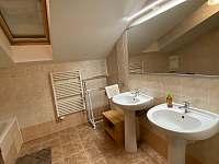 Apartmán 2 koupelna - k pronájmu Harrachov