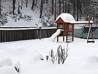 zahrada - chata ubytování Svoboda nad Úpou