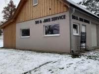 servis kol a lyží - Černý Důl - Čistá v Krkonoších