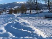 zimní pohled na Černou horu -